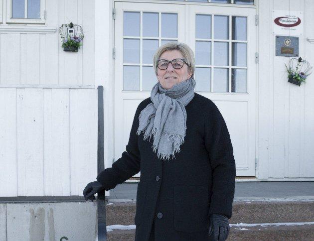 GOD: Unn Cecilie Raastad har tatt initiativet til en julefeiring for dem som er alene.Foto: bente Elmung