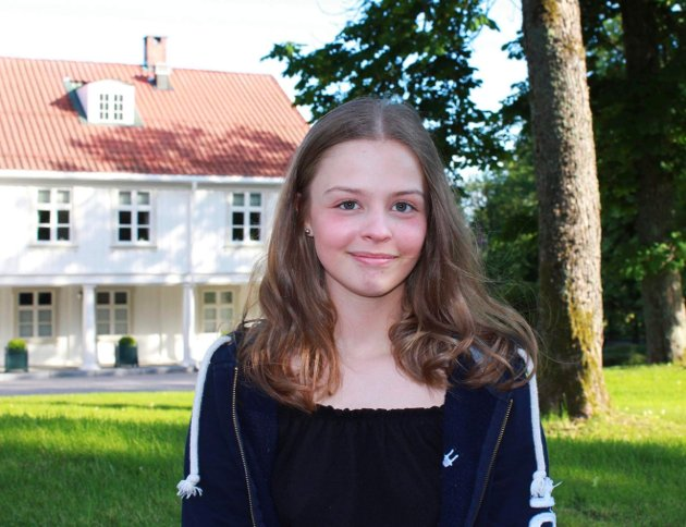 Sandra Lexander, leder i Østfold Unge Høyre.
