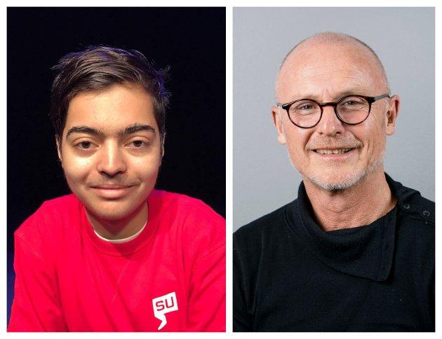ARTIKKELFORFATTERE: Aram Karim (til venstre) og Lars Egeland