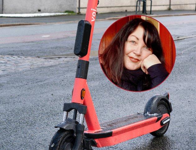 Her råder jungelens lov. Eller et fritt marked da, som nesten er det samme, skriver Maria Can om elsparkesyklenes inntog.