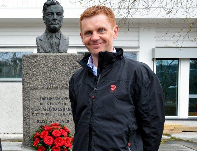 Fagernes: – Årets markering av 1. mai, arbeidernes internasjonale kampdag, blir annerledes, sier Håvard Halvorsen i Nord-Aurdal Arbeiderparti.