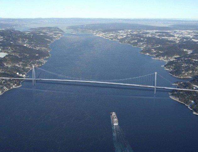 Innsender foreslår bro fra Nesoddtangen til Snarøya