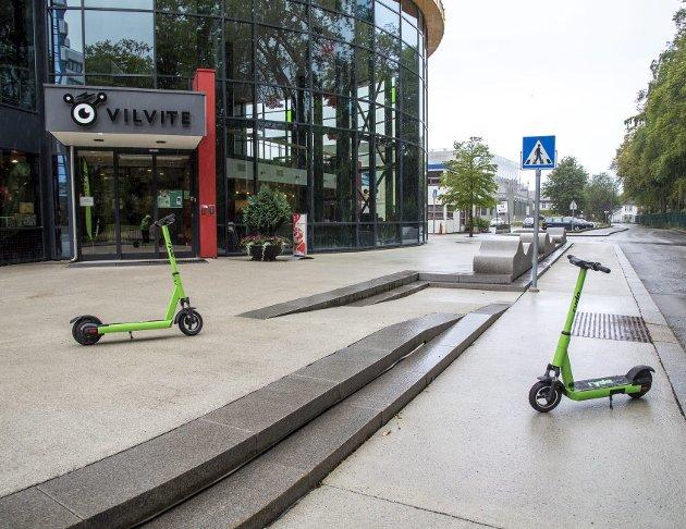 De nye reglene for el-løperhjul vil neppe ha stor virkning i bybildet. Det er kanskje større grunn til å tro at endringene som er varslet senere i år, og som gir kommunen større mulighet til å bestemme over eget areal, vil gi bedre resultater. ARKIVFOTO: AGNIESZKA IWANSKA