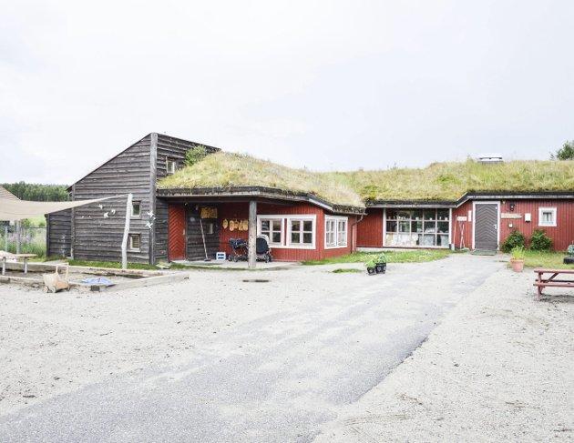 Ysterhagan barnehage på Røros, med samisk avdeling.