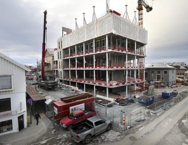 Bygg og anlegg: I sin blinde kamp for EØS-avtalen overser NHO totalt interessen til Bygg og anlegg, den suverent største innenlandske næringa i Norge. Illustrasjonsfoto