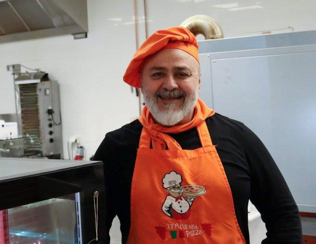 GOD KEBAB: Waheeb Shakro og Italiensk Pizza Solvang står for en av byens beste kebabruller.