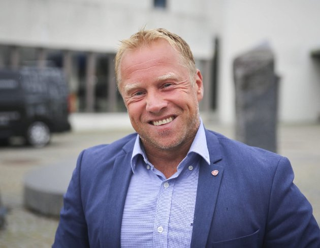 Lasse Haugen, leder Øvre Eiker Arbeiderparti