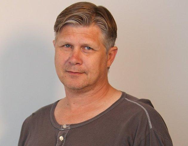 Helge Kjøniksen, journalist i Moss Avis.