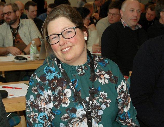 NY KURS?: Kristina Hegge skal lede et Oppland Bondelag som vil endre viktige rammer for jordbruket.