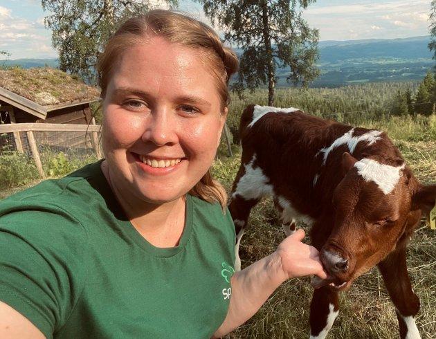 Her er det unge lovende bondespirer som brenner for faget, men de er bekymret for utviklingen i landbruket., skriver Dorthea Elverum, Ungdomskandidat Sp i valgdistrikt Nord-Trøndelag