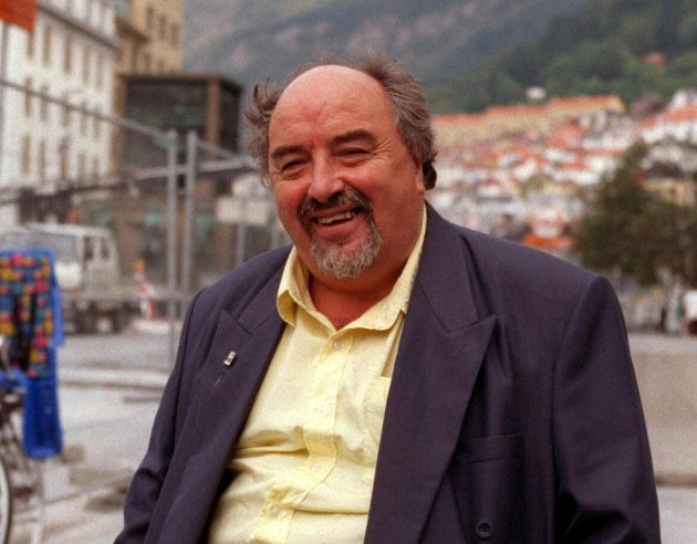Jan Andersen fotografert på Torgalmenningen i 1998. Natt til 3. januar døde han, 84 år gammel.