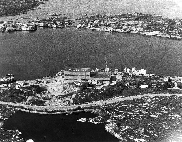 Storvik Mekaniske Verksted i mars 1979.