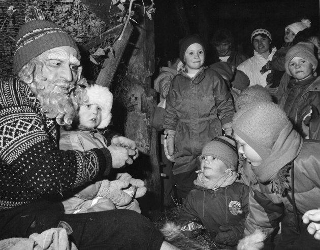Nissen på Klakegg. Desember 1991.