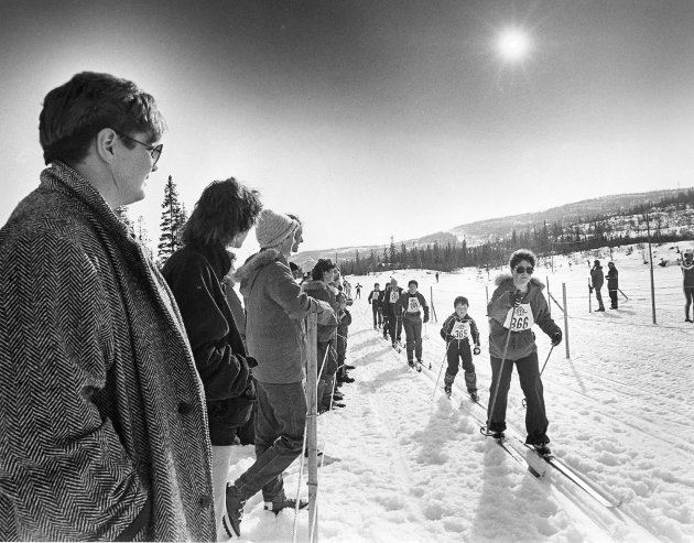 Vargtrekket 1985.