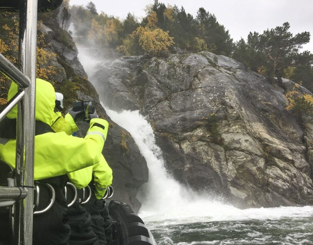 Illustrasjonsfoto: Frå RIB-satstinga i Eidfjord.