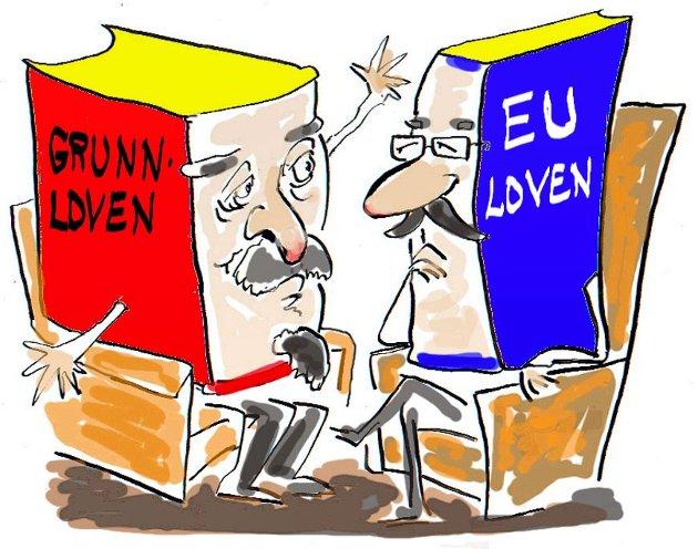 – I alle disse år med EØS har vårt land gradvis blitt tilpasset EU. Derfor er det avgjørende viktig at vi ikke bare sier nei til EU, men også til EØS, heter det i uttalelsen fra Østfold Nei til EU.