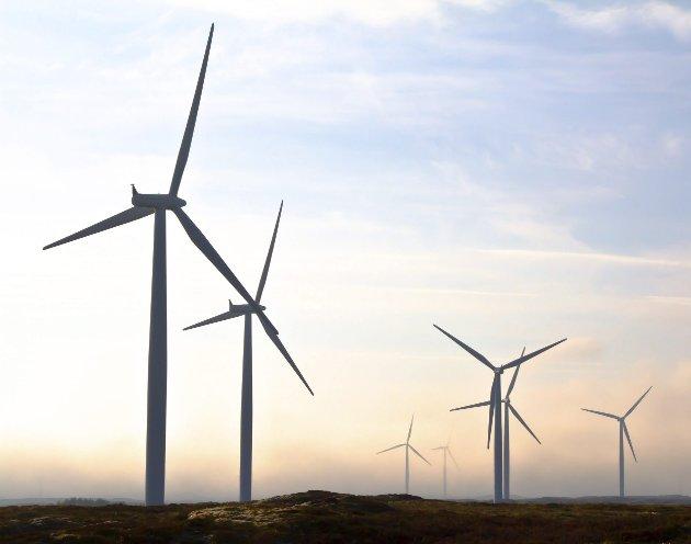 Nei: Det blir ikke gigantiske vindmøllerr i Gudbrandsdalen.Arkivfoto: Scanpix