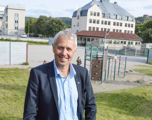 Eirik Milde, avtroppende kommunestyremedlem for Høyre.