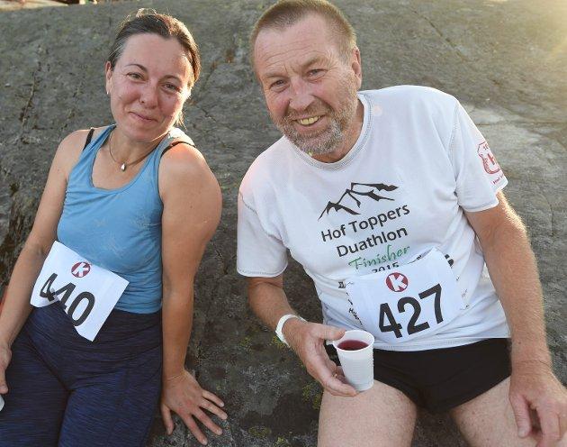 Sandra Lein og Hans Engebretsen.