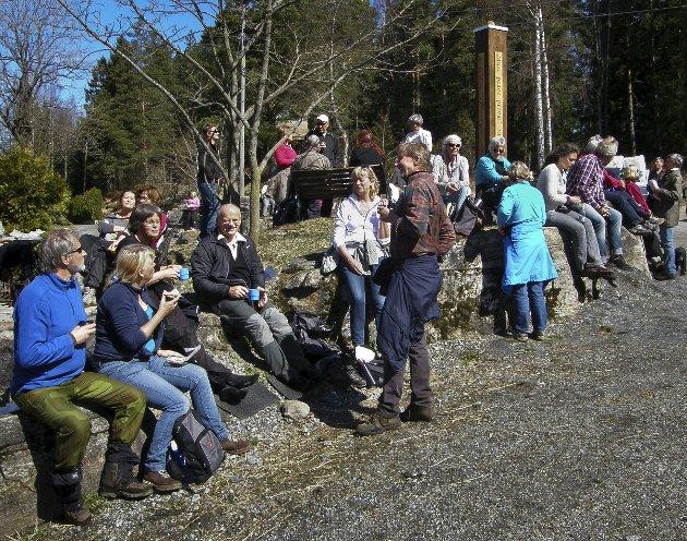 PINSE: Pilegrimsvandring er noe som hører pinsen til. Dette bildet fra en slik vandring i Vestby i 2013.