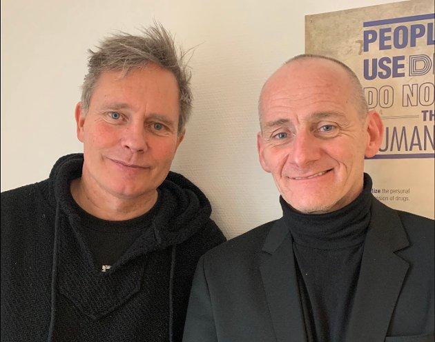 Arild Knutsen og John Melhus.