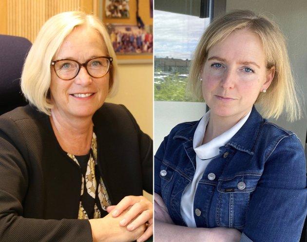 Skal spesialisthelsetjenesten fortsatt være utenfor politisk innflytelse og styring? Hvem tar ansvar for helheten, spør Marit Arnstad og Inderøy-ordfører Ida Stuberg (Sp).