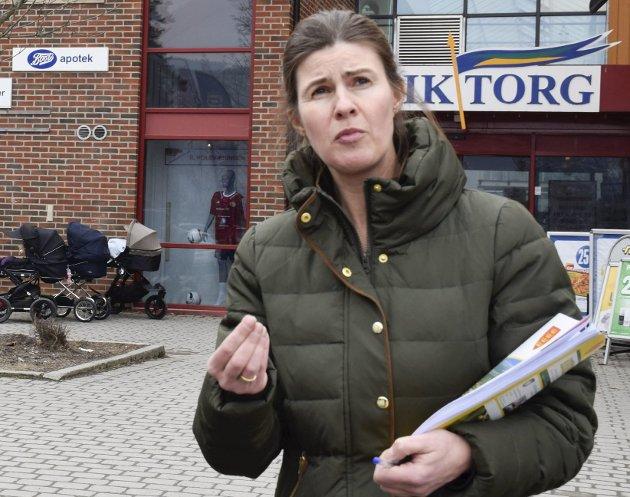 – Fortell om Hole som en kommune med masse ressurser, sier Ingeborg Bech. Foto: Pål Tr. Mannsverk