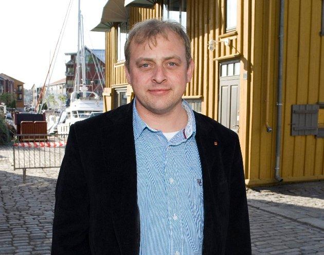Ulf Lervik, regionleder i LO Viken Oslo. (Foto: Halden Arbeiderblad)