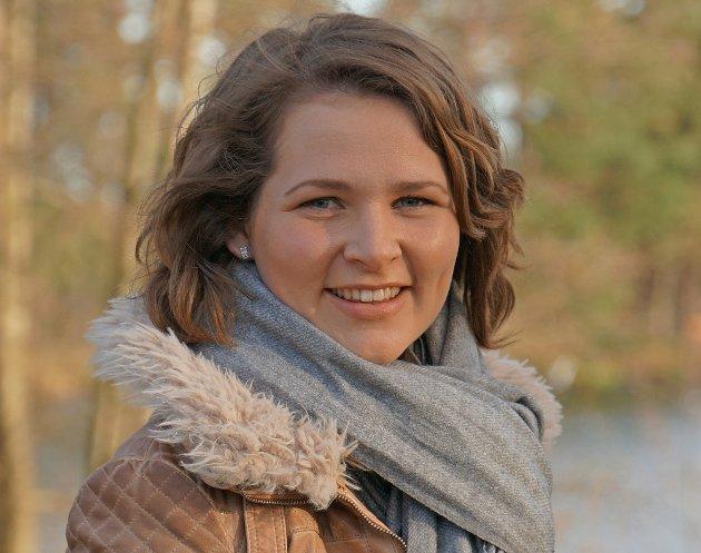 Lina Bringsli (25), Ungdomspolitiker for KrF i Vestfold