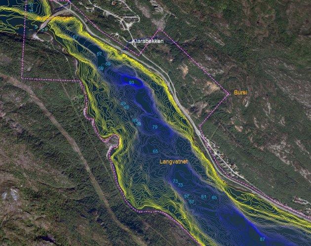 Kartskisse fra Fauske kommune