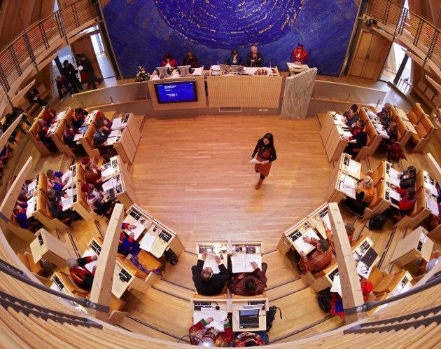 UNNTAK: Det eksisterer i dag et unntak i offentlighetsloven som gjør at konsultasjoner mellom staten og Sametinget kan unntas offentligheten.   Foto: Sametinget/ Denis Caviglia