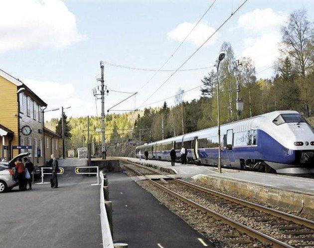 Konkurrerte ut NSB: Et privat selskap, GoAhead, vant frem med anbudsrunden på å drifte Sørlandsbanen.