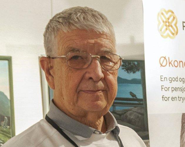 Knut Fredriksen. (Arkiv)