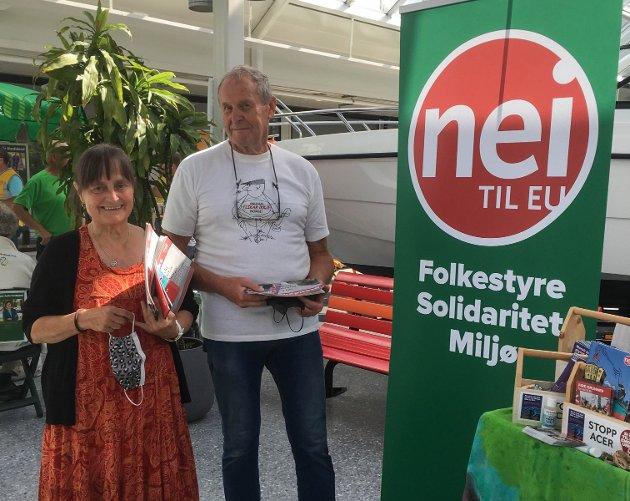 – Har det noko for seg å stå slik, spør Arnulf Hjelmtveit i Alver Nei til EU.