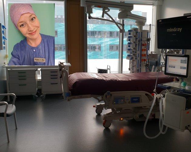STOR MANGEL: Marianne Haagensen Øien mener at koronakrisen tydeliggjør mangelen sykepleiere i landet.