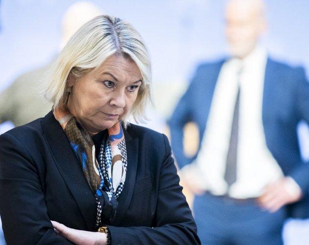 Helsedepartementet og Justisdepartementet brøt Offentlighetsloven. Helsedepartementet innser det, mens justisminister Monica Mæland bagatelliserer det. Hun hadde viktigere ting å gjøre enn å gi innsyn. FOTO: NTB