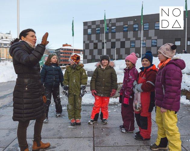Vi tror det er helt avgjørende for det demografiske puslespillet i landsdelen at vi skaper spennende byrom som gir kule byer å bo i og besøke. De fleste byrommene blir i dag kun brukt sporadisk i sommerhalvåret. Noen unntak vinterstid er isskulpturfestivalen, Samisk uke og julegrantenningen, skriver Michele Renée Widerøe.