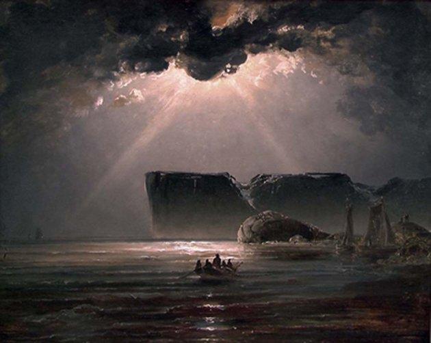 Nordkapp, malt av Peder Balke i 1840