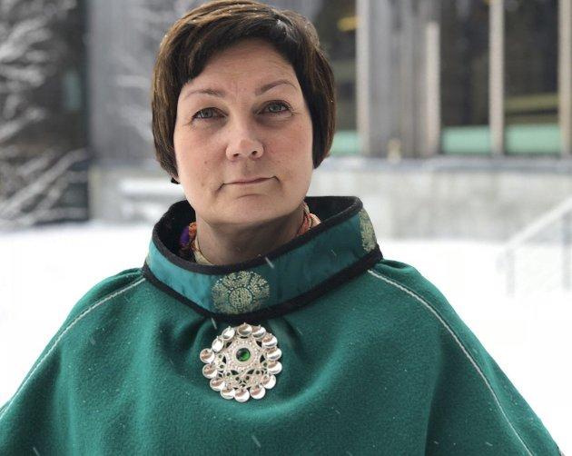 SAMETINGSPRESIDENT: Aili Keskitalo (NSR).