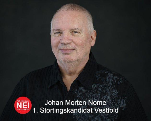 Stortingskandidat for FNB Vestfold og Telemark