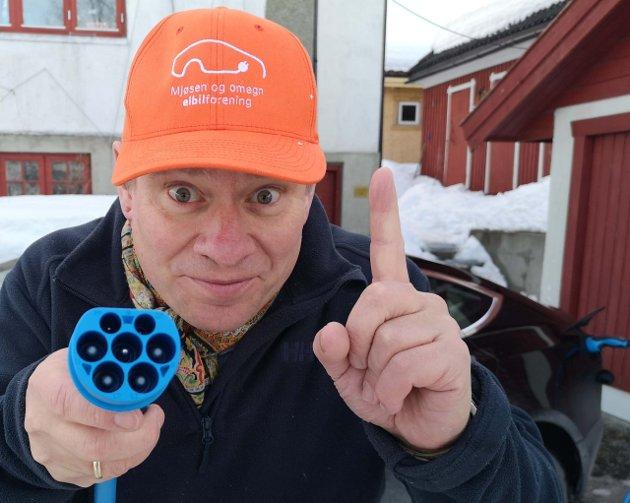 Forfatteren mener at også Valdres og Innlandet må få ta del i elbilrevolusjonen