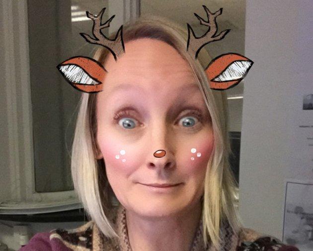 Obs, det gikk helt i ball for BA-journalist Katherine Ferguson på Snapchat.