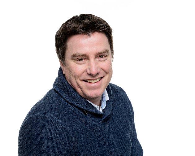 FOTBALLDEBATT: Atle Wester Larsen, sportsleder i Halden Arbeiderblad
