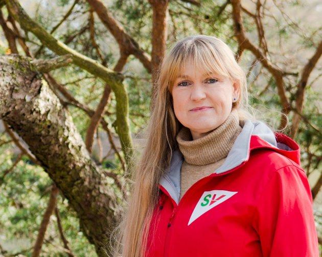 Grete Wold. Fylkesleder SV.
