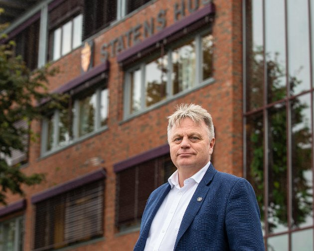 Øystein Johannessen, assisterende fylkesmann i Trøndelag.