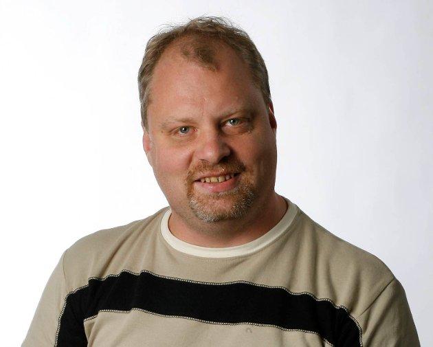 Olav Sundvor, journalist i BA.