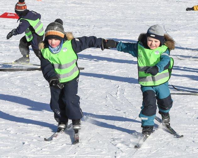 Skiskole på Ringkollen