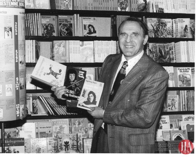 1978: Salget av barnebøker går meget bra, og vi har fått god respons på de såkalte problembøkene, sier bokhandler Fritz Køhn.