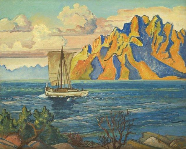 Nordlandsjekt Axel Revold