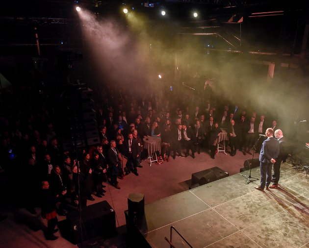 Agenda Nord-Norge 2017 åpnet. Roger Ingebrigtsen og Arve Ulriksen.